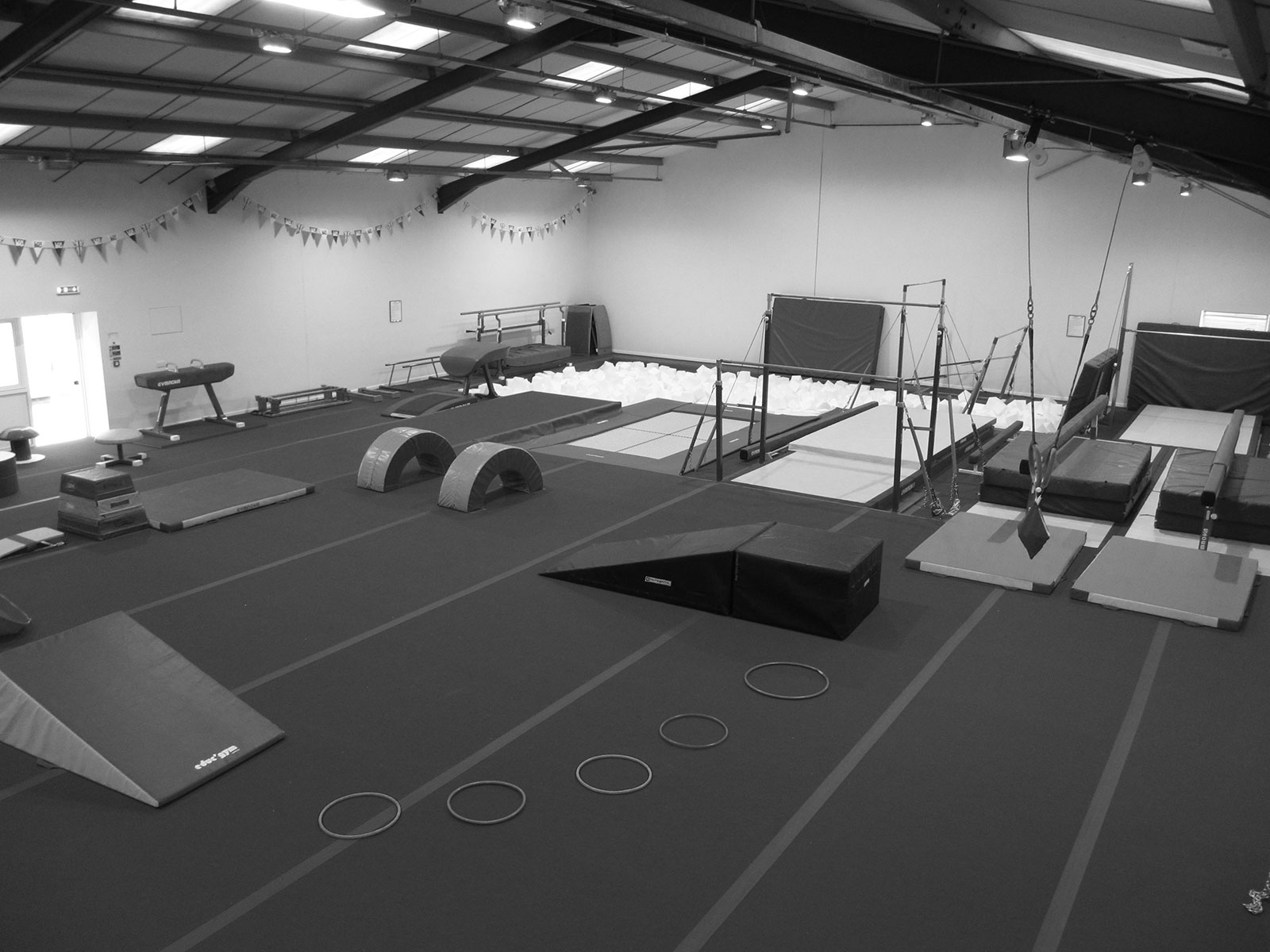 Cambridge Gymnastics Academy Equipment